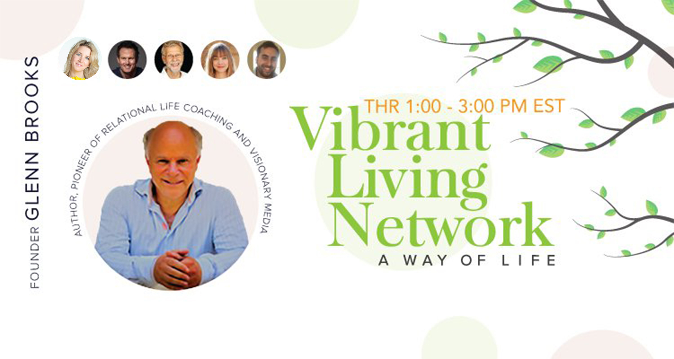 Vibrant Living Network Glenn Brooks OMTimes Radio