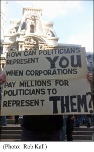 Sign at Occupy