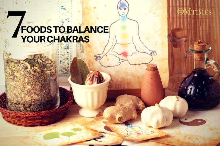 7 Foods to Balance Your Chakras
