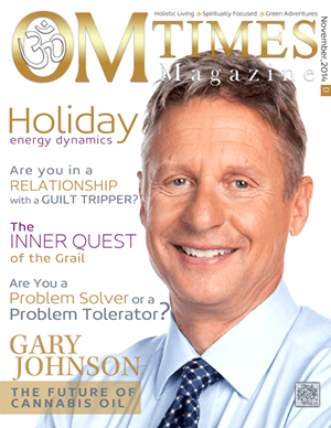 OMTimes November D 2014 Edition with Gary Johnson