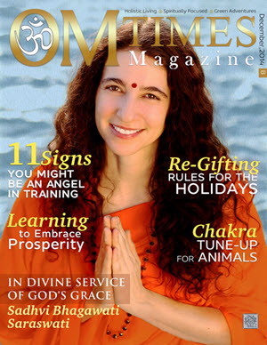 OMTimes December B 2014 Edition with Sadhvi Bhagawati Saraswati