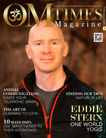 OMTimes Magazine February A 2016 Edition with Eddie Stern