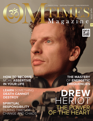 OMTimes Magazine April D 2016 Edition with Drew Heriot