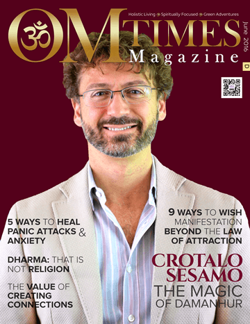 OMTimes Magazine June D 2016 Edition with Crotalo Sesamo