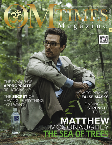 OMTimes Magazine August D 2016 Edition with Matthew McConaughey