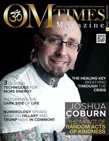 OMTimes Magazine September D 2016 Edition with Joshua Coburn