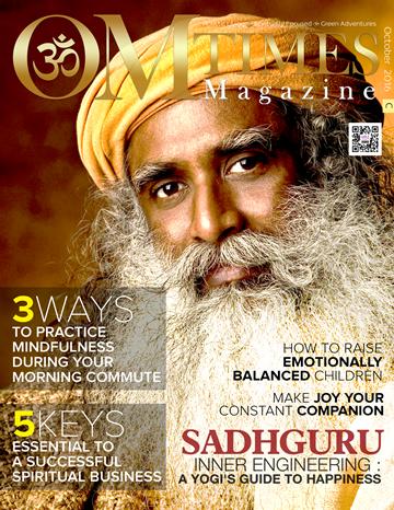 OMTimes Magazine October C 2016 Edition with Sadhguru