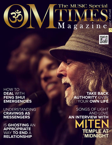 OMTimes Magazine January C 2017 Edition with Miten