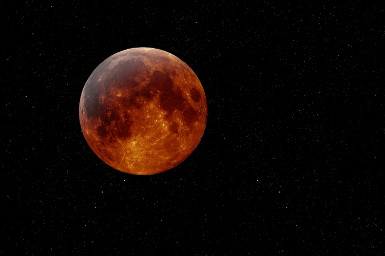 blood moon eclipse leo - photo #7